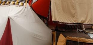 Camping vertical