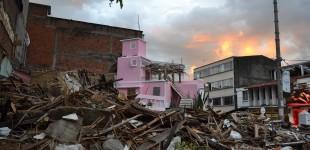 Pink villa Colombia